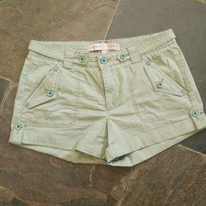 Guess Cargo Green Shorts